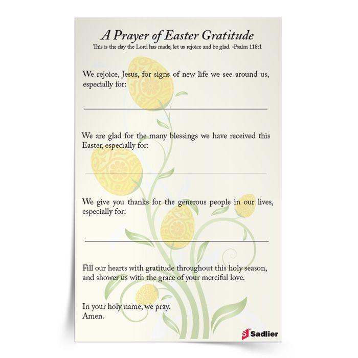 Easter Dinner Prayer  17 Best images about Catholic Easter on Pinterest