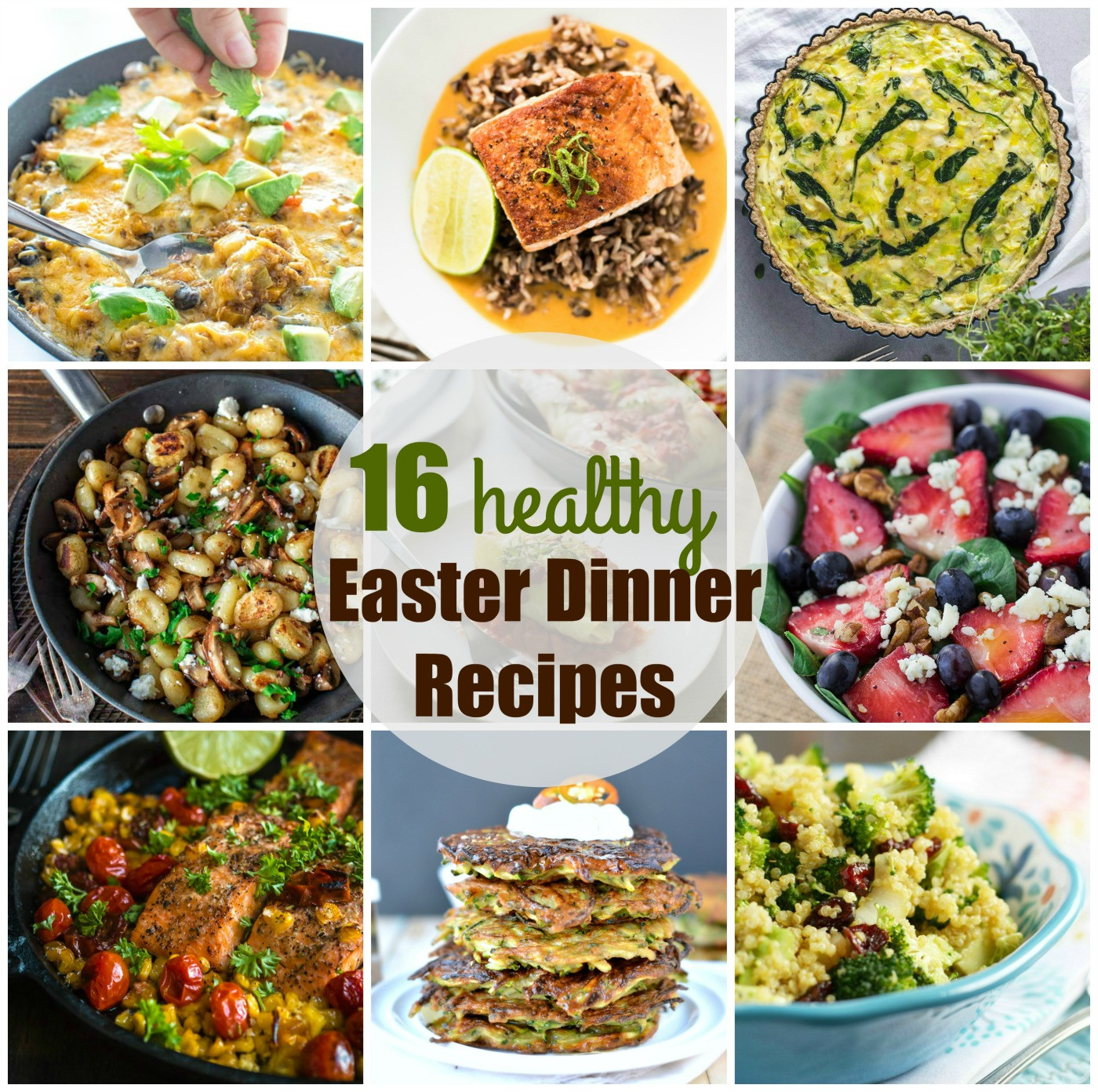 Easter Dinner Recipes Ideas  Easter dinner recipes 16 Healthy easter recipes