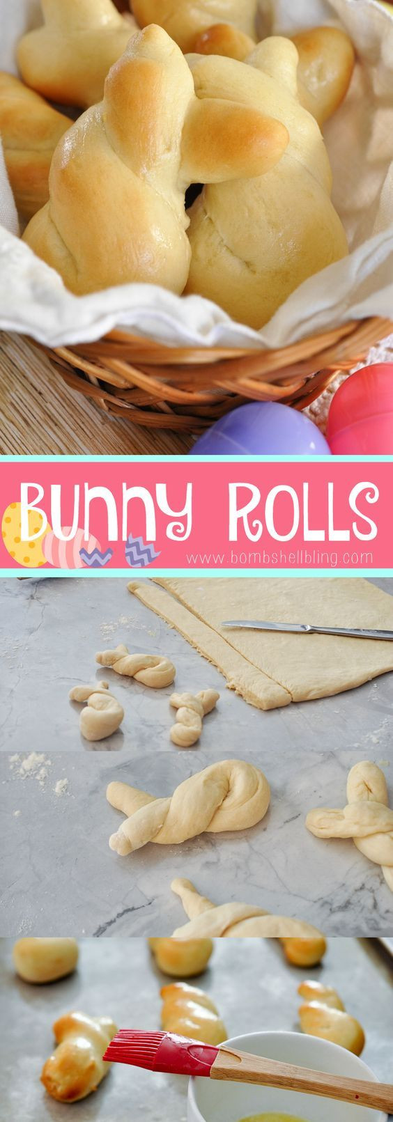 Easter Dinner Rolls  Easter Bunny Rolls Recipe