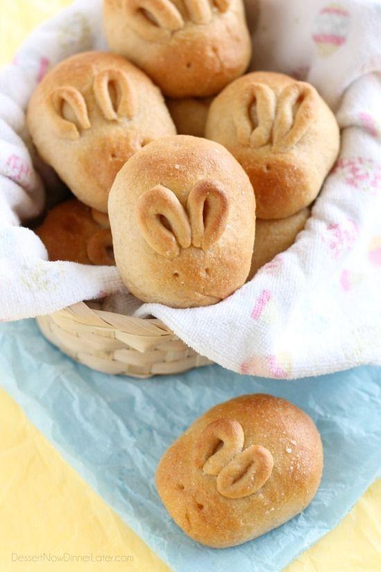 Easter Dinner Rolls  Best 25 Bunny rolls ideas on Pinterest