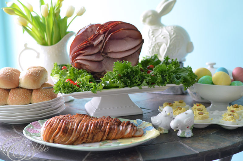 Easter Dinner Sides With Ham  HoneyBaked Ham Easter Dinner and Gift Card Giveaway