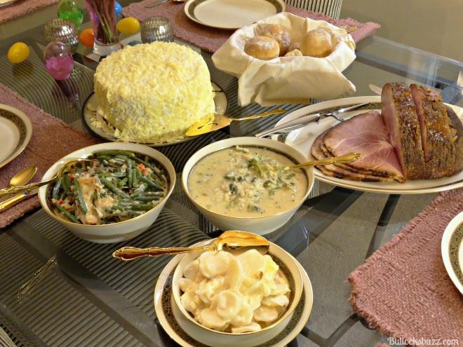 Easter Dinner Sides With Ham  Enjoy Easter Dinner with HoneyBaked Ham Money Saving