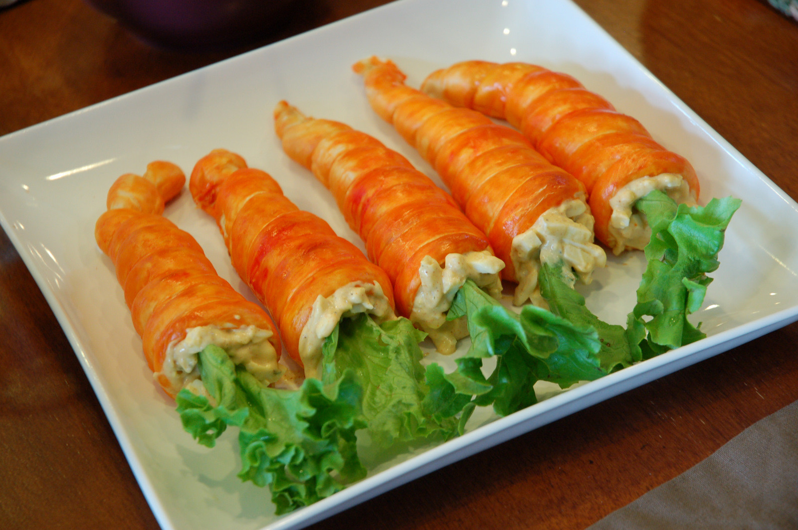 Easter Dinner Suggestions  restlessrisa Easter Dinner Carrot Rolls & Resurrection Rolls