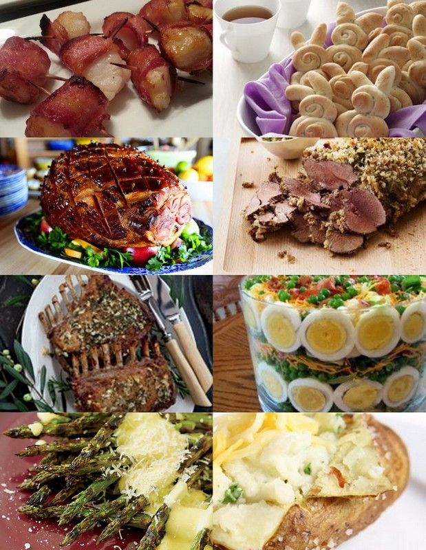 Easter Dinner Suggestions  8 Easter Dinner Recipe Ideas