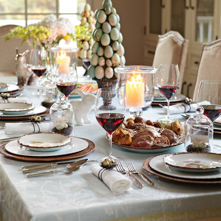 Easter Dinner Table Decorations  Create A Beautiful Easter Table
