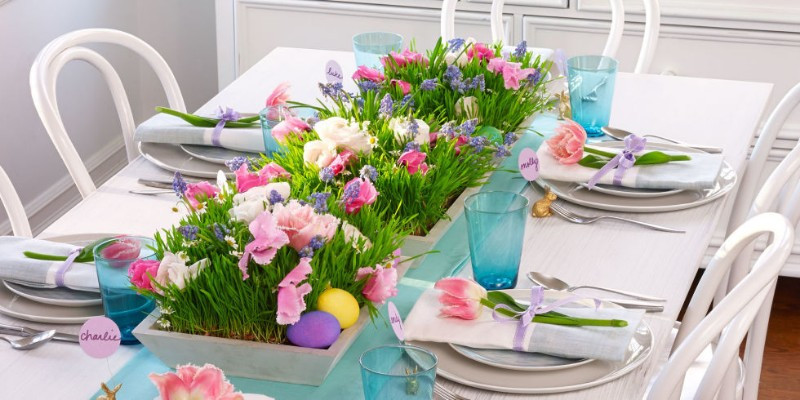 Easter Dinner Table Decorations  Easter Brunch How to Simply Decorate Your Table