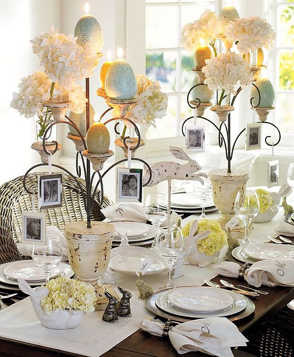 Easter Dinner Table Decorations  25 Easter Holiday Ideas for Table Decoration