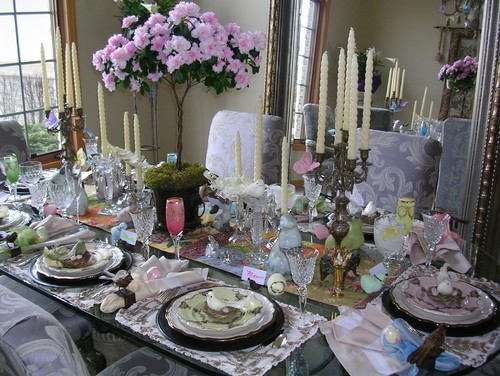 Easter Dinner Table Decorations  Easter Dinner Table Settings