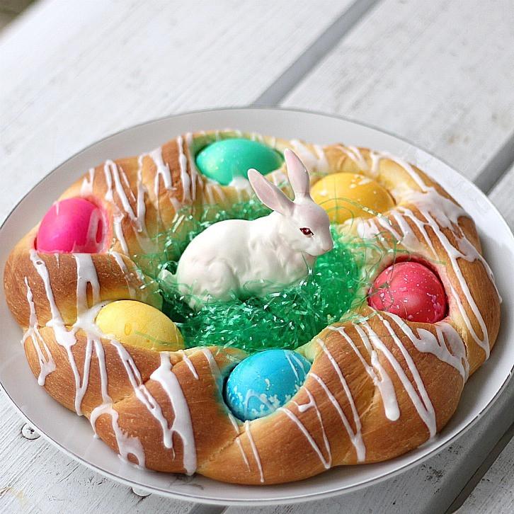 Easter Egg Bread Recipe  Easter Bread Grateful Prayer
