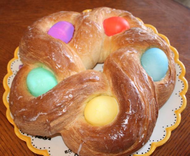 Easter Egg Bread Recipe  Easter Egg Bread Recipe Food