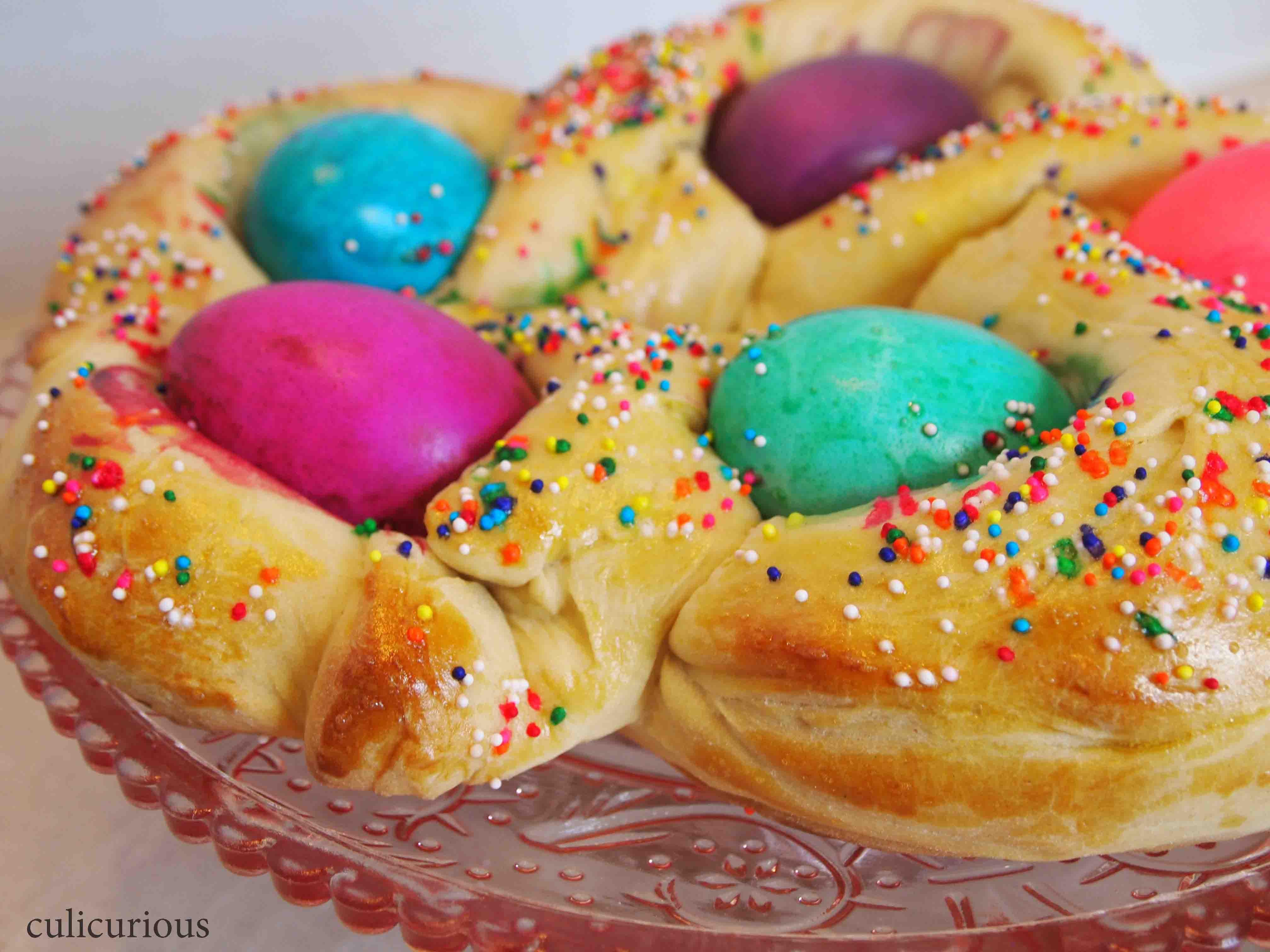 Easter Egg Bread Recipe  Braided Easter Bread Recipe TwelveLoaves