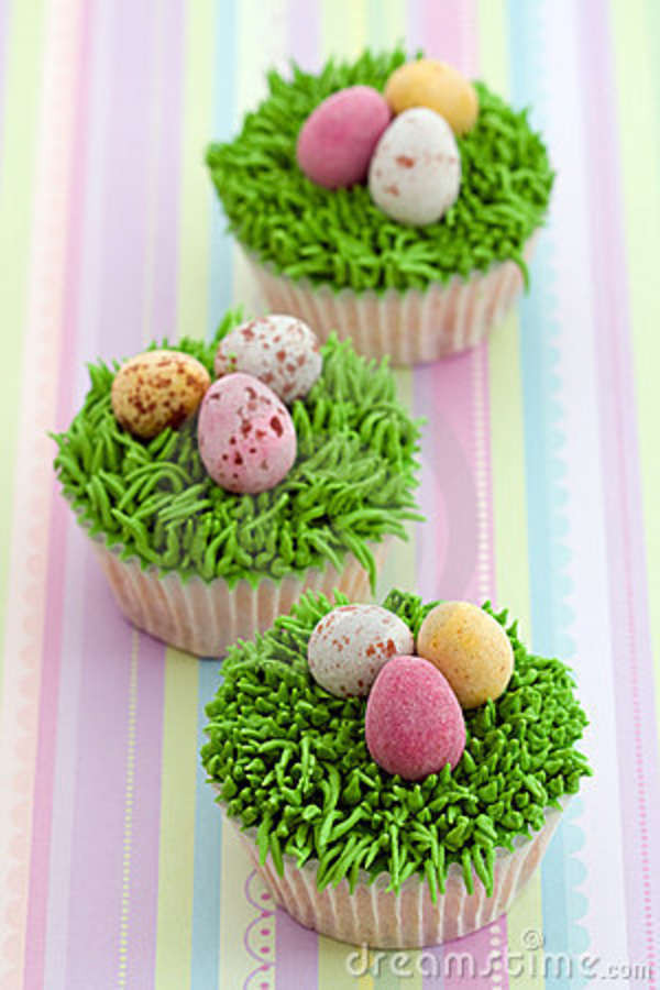 Easter Egg Cupcakes  Easter Egg Nest Cupcake – What2Cook