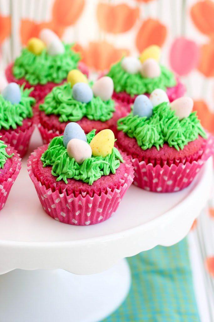 Easter Egg Cupcakes  Adorable Easter Cupcake Ideas