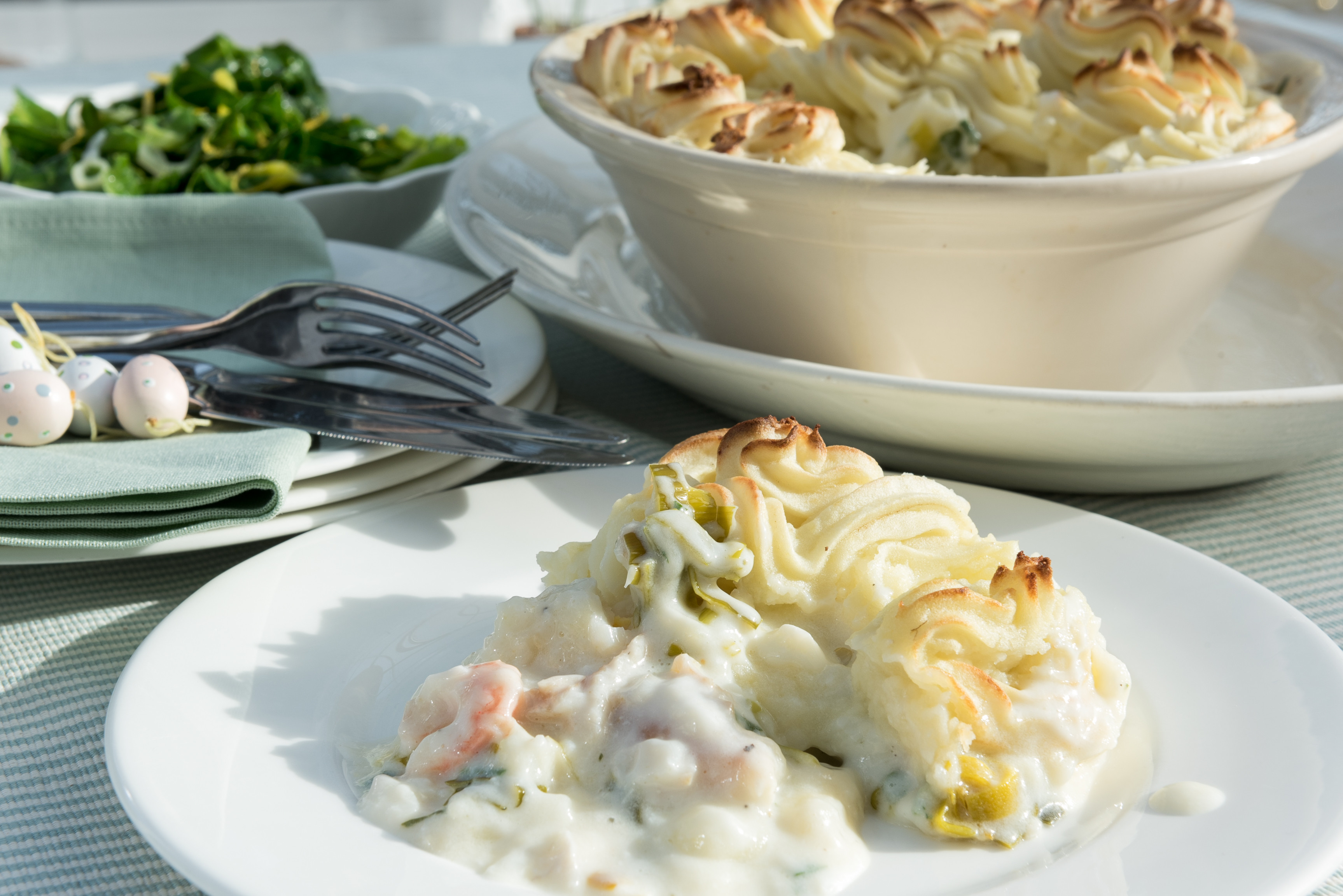 Easter Fish Recipes  CREAMY FISH PIE FOR EASTER Woodend Cookery