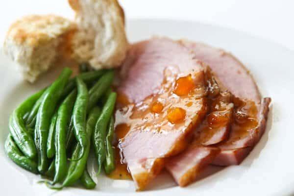 Easter Ham Glaze Recipes  Easter Ham Recipe with Mango Ginger Glaze 6 Ingre nts