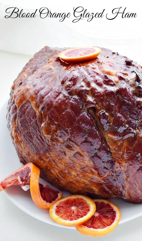 Easter Ham Glaze Recipes  A Spin on Easter Dinner Blood Orange Glazed Ham Recipe