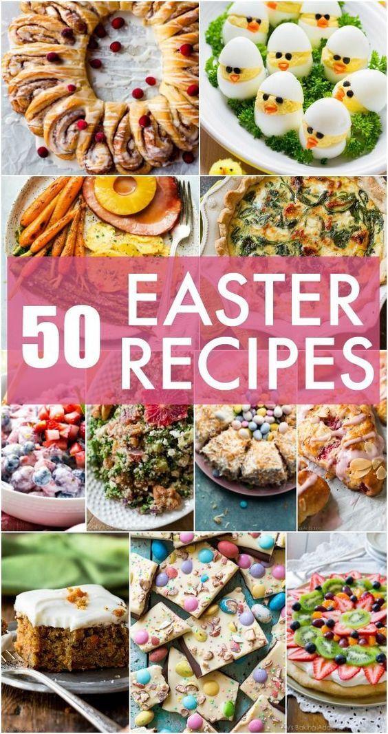 Easter Ham Side Dishes  50 Easter Menu Recipes