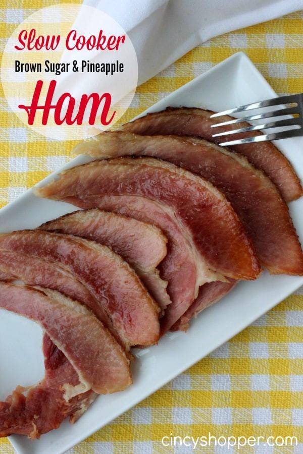 Easter Ham Slow Cooker  Slow Cooker Ham Recipe CincyShopper