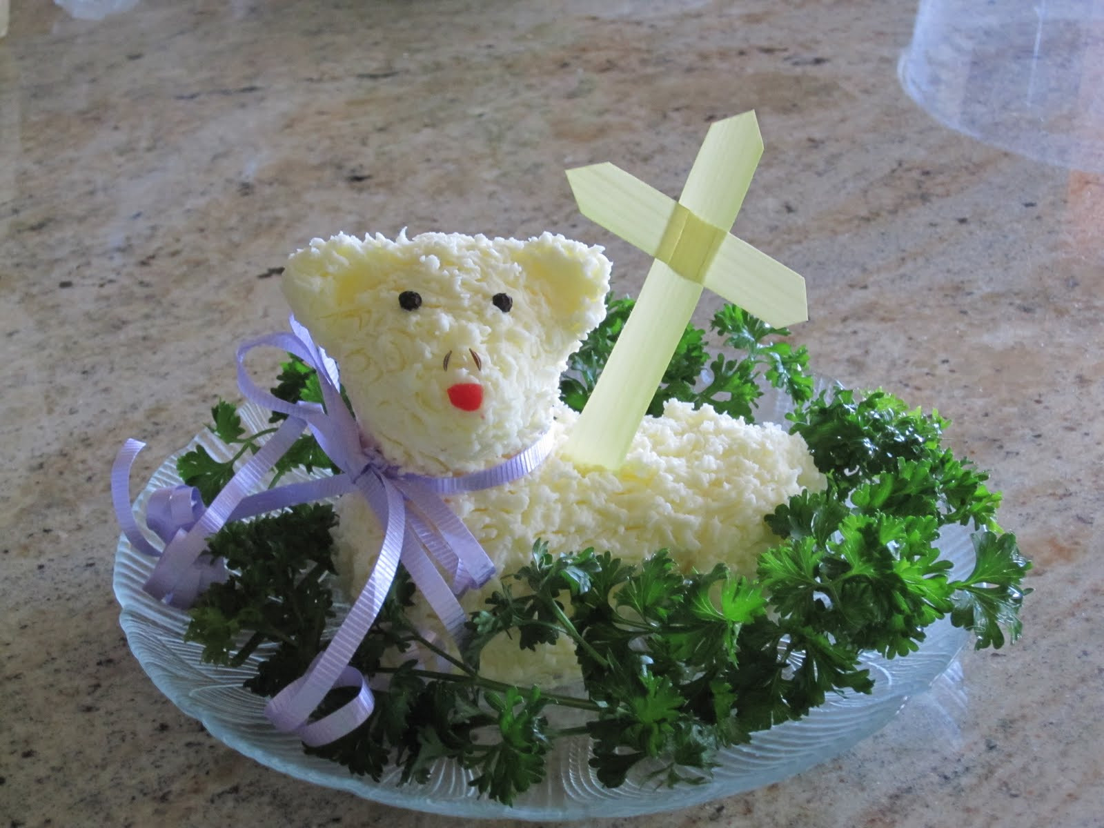 Easter Lamb Butter Mold  All About Being Inspired Step by Step Easter Butter Lamb