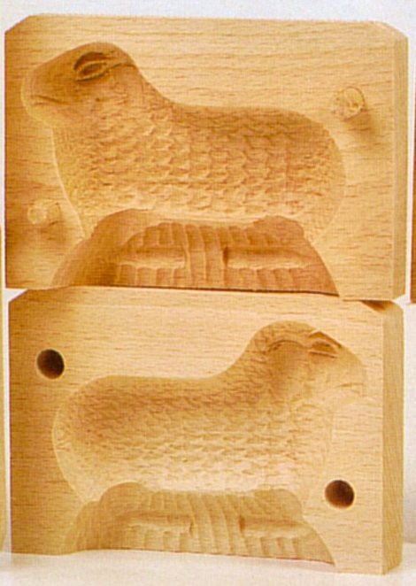 Easter Lamb Butter Mold  Cookie and Butter Molds