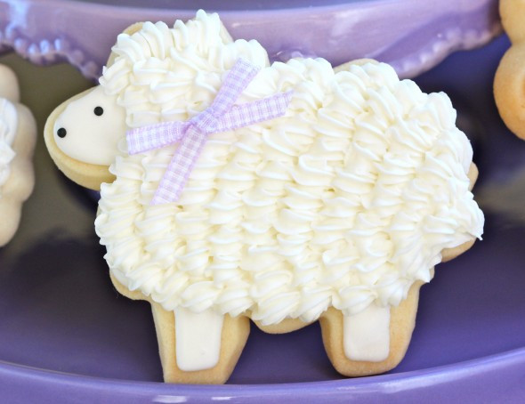 Easter Lamb Decorations  How to Make Cute Easter Bunny and Lamb Cookies