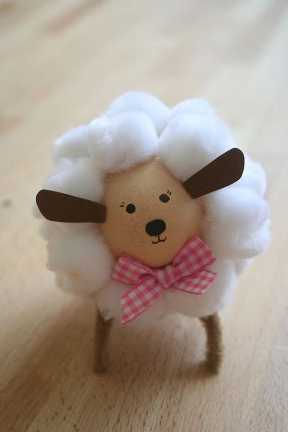 Easter Lamb Decorations  Amazing Lamb and Sheep Crafts Projects