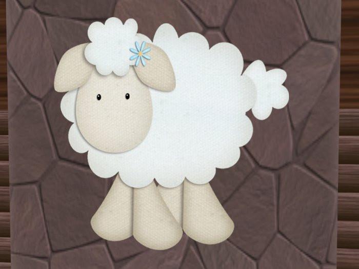 Easter Lamb Decorations  Second Life Marketplace Easter Decor Cute Lamb