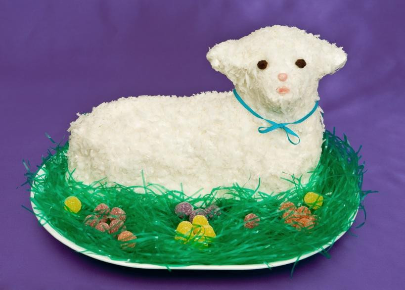 Easter Lamb Decorations  Decorating Ideas for Easter Cakes [Slideshow]