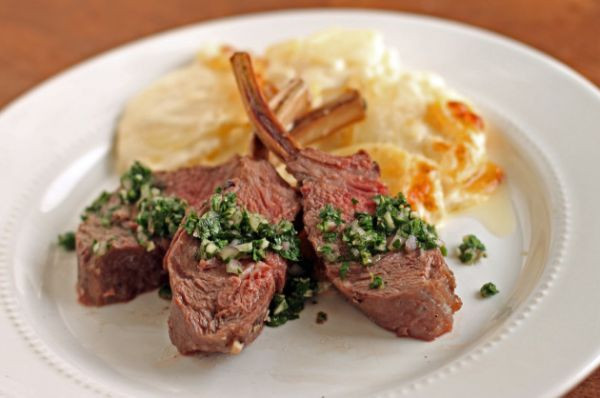 Easter Lamb Dinner  Crown Roast of Lamb Elegant Easter Dinner by Food Fanatic