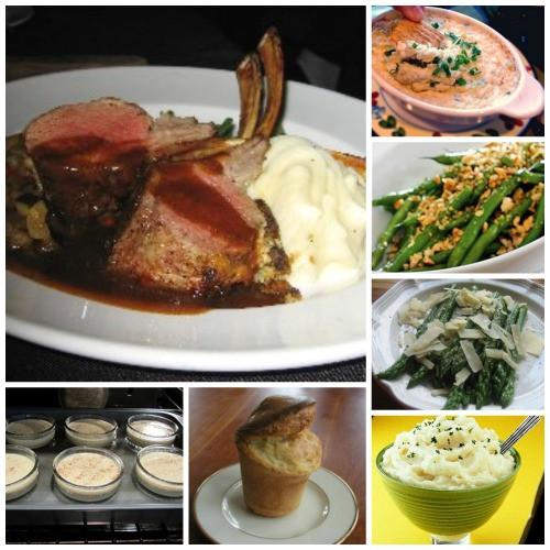 Easter Lamb Dinner  Easter Dinner Rack Lamb Menu Whats Cooking America
