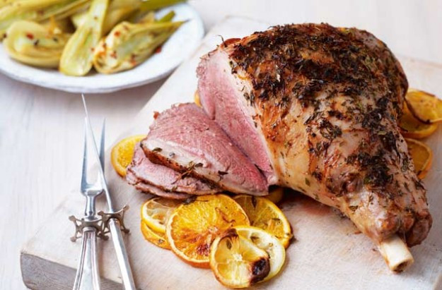 Easter Lamb Menu  Easter roast dinner menu goodtoknow