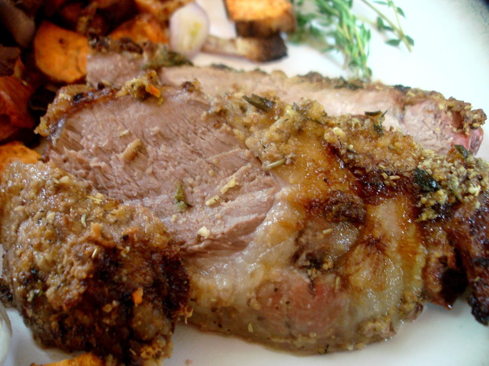 Easter Leg Of Lamb  Easter Weekend Herb Encrusted Leg of Lamb
