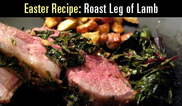 Easter Leg Of Lamb  easter leg of lamb