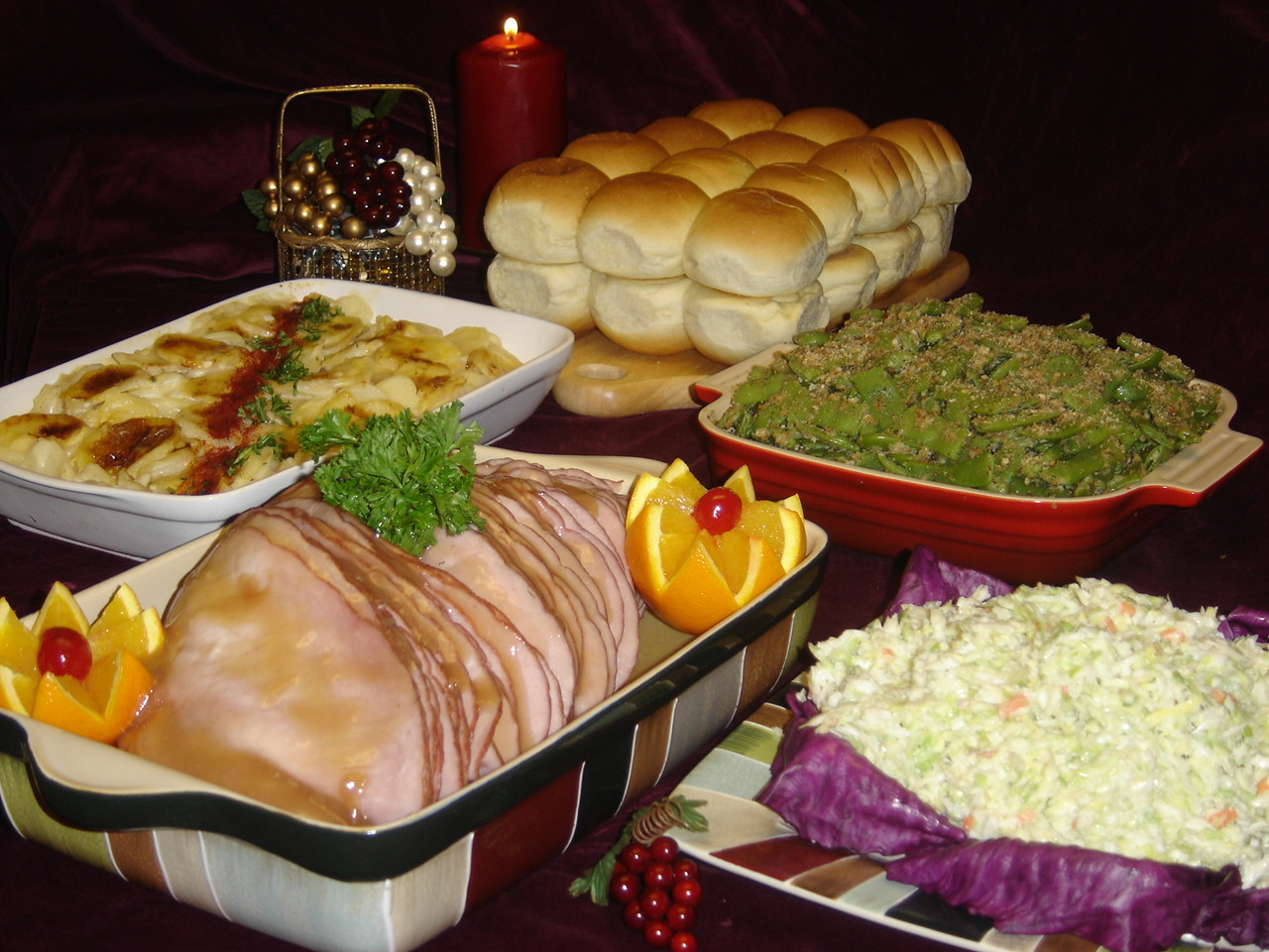 Easter Menu Ham  Hop into Schiff's for Easter Dinner made easy