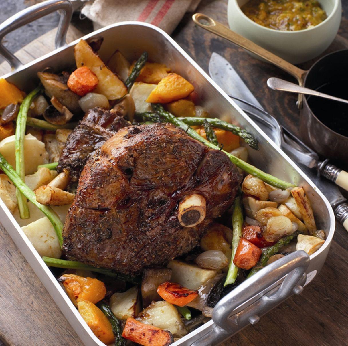 Easter Roast Lamb  Easter Roast Leg of Lamb recipe All4Recipes