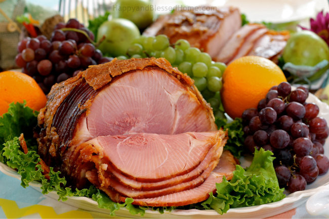 Easter Sides With Ham  10 Easter Table Tips and a Simpler Easter Meal