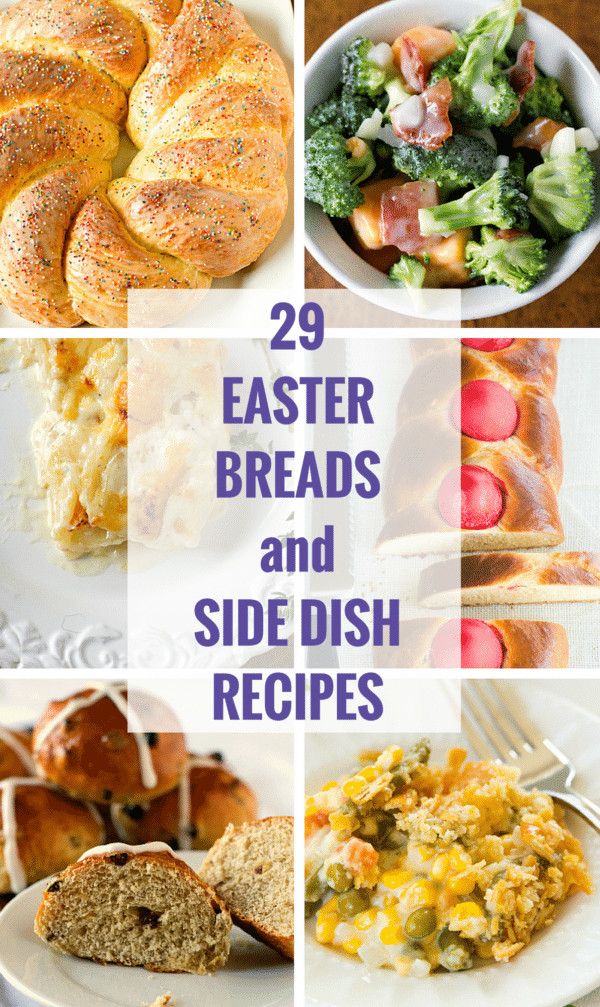 Easter Sides With Ham  29 Easter Breads and Side Dish Recipes