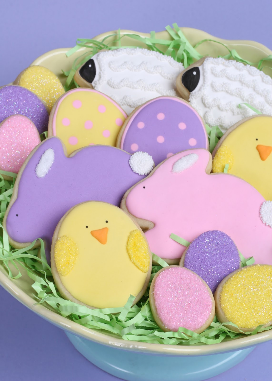 Easter Sugar Cookies  Cute Easter Cookies How to – Glorious Treats
