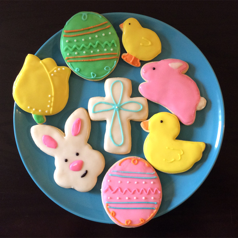 Easter Sugar Cookies  Tis The Season Easter Sugar Cookies
