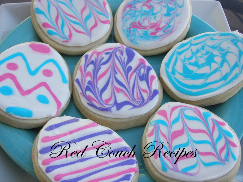 Easter Sugar Cookies  Red Couch Recipes Sugar Cookies for Easter