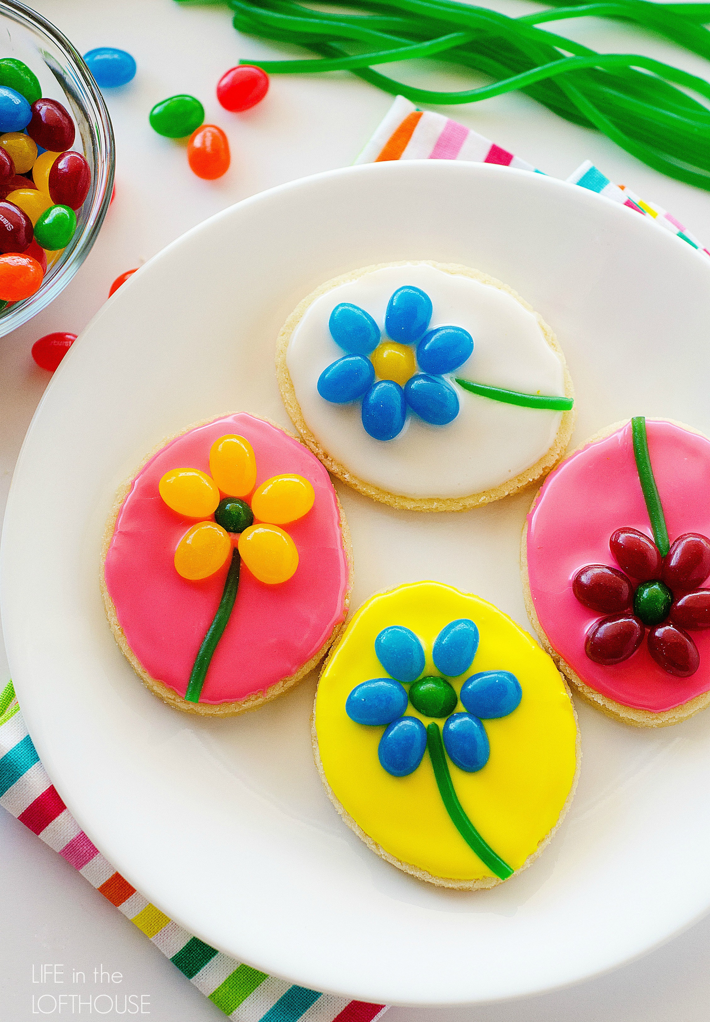 Easter Sugar Cookies  Easter Sugar Cookies and The Perfect Easter Basket from