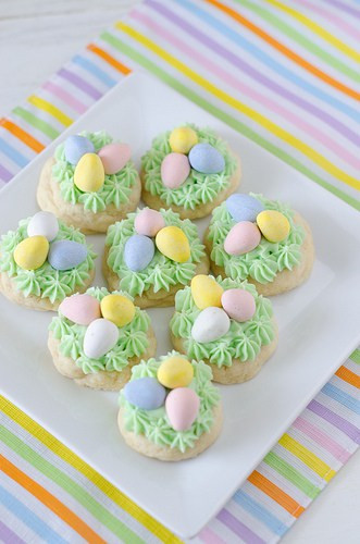 Easter Sugar Cookies  25 Easter Dessert Recipes Rachel Cooks