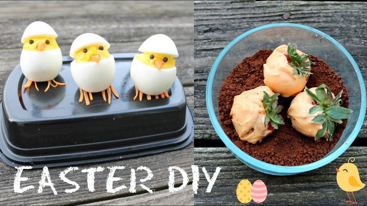 Easter Sunday Desserts  2 Cute DIY Treats Hatching chicks Carrot garden Dirt