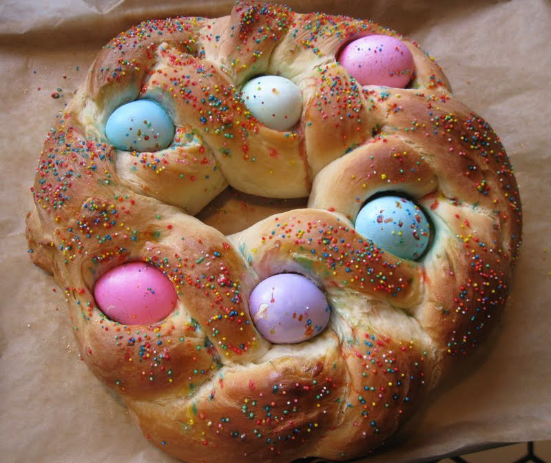 Easter Sweet Bread  Bakeaway with Me Aunt Emma s Easter Bread