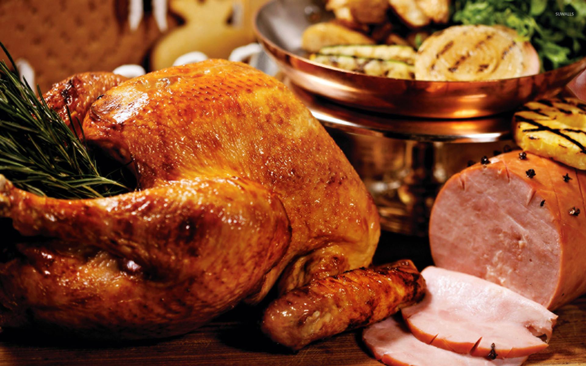 Easter Turkey Dinner  Thanksgiving turkey [2] wallpaper Holiday wallpapers