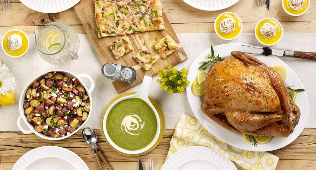 Easter Turkey Dinner  Curated Easter Dinner & Brunch Menus