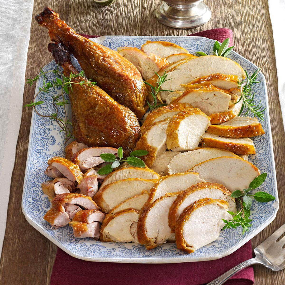 Easter Turkey Dinner  Make Ahead Turkey and Gravy Recipe