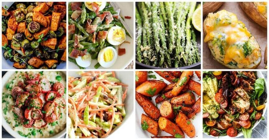 Easter Vegetable Side Dishes  easter ve able side dishes