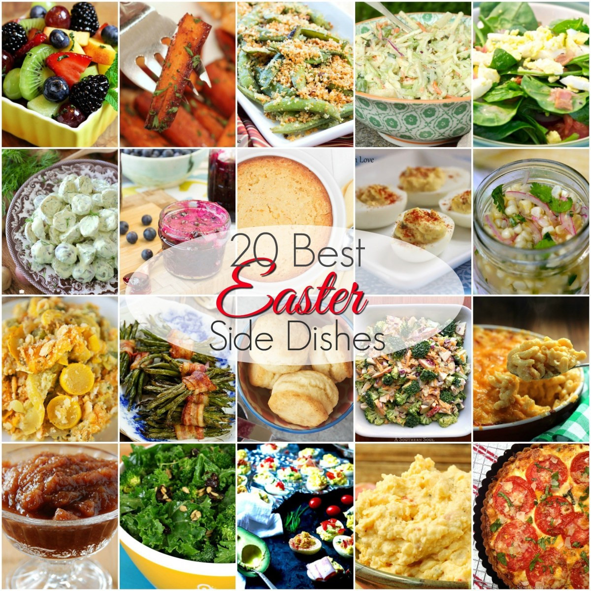 Easter Vegetable Side Dishes  20 BEST Easter Side Dishes