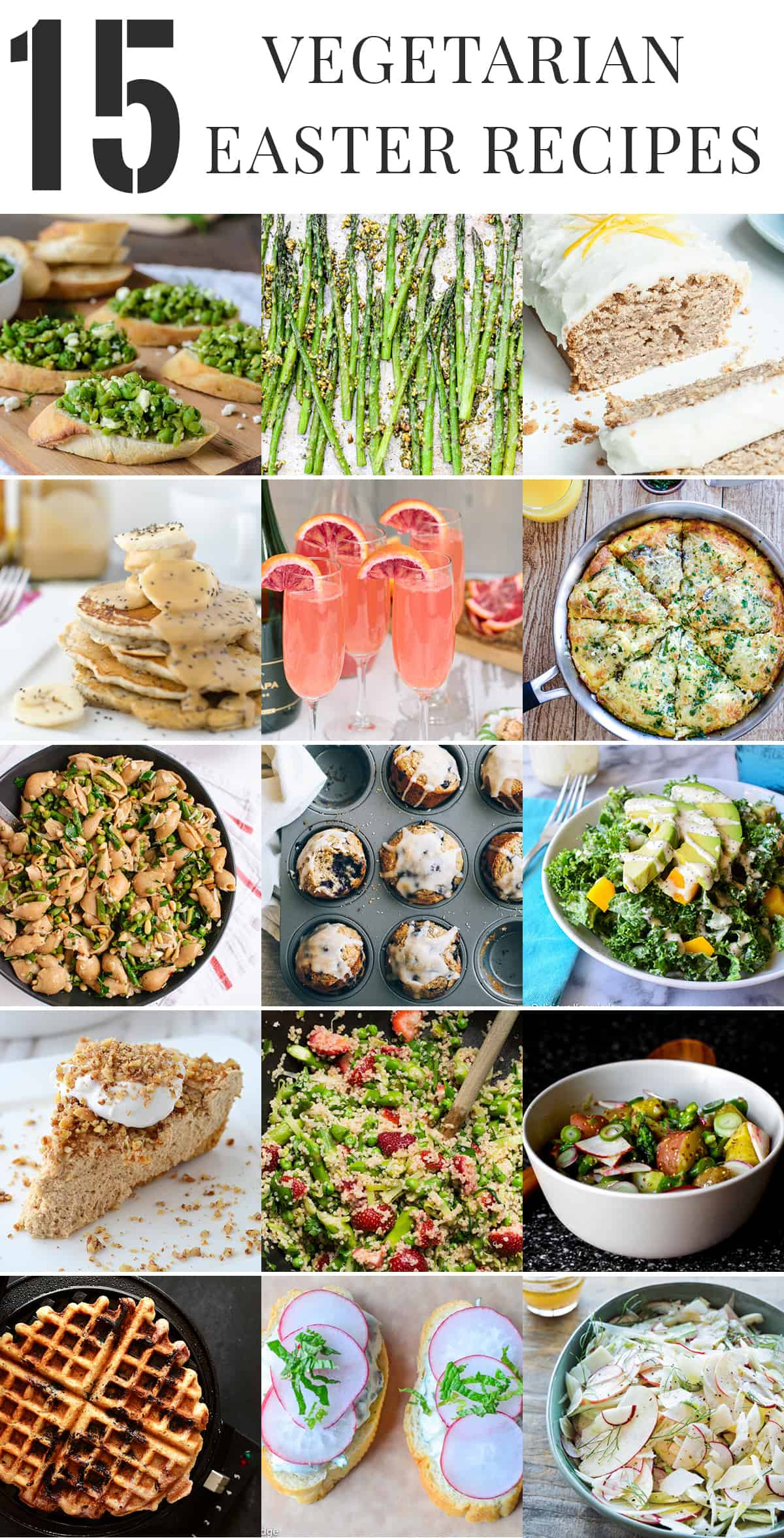 Easter Vegetarian Recipes  Healthy Ve arian Easter Recipes Delish Knowledge